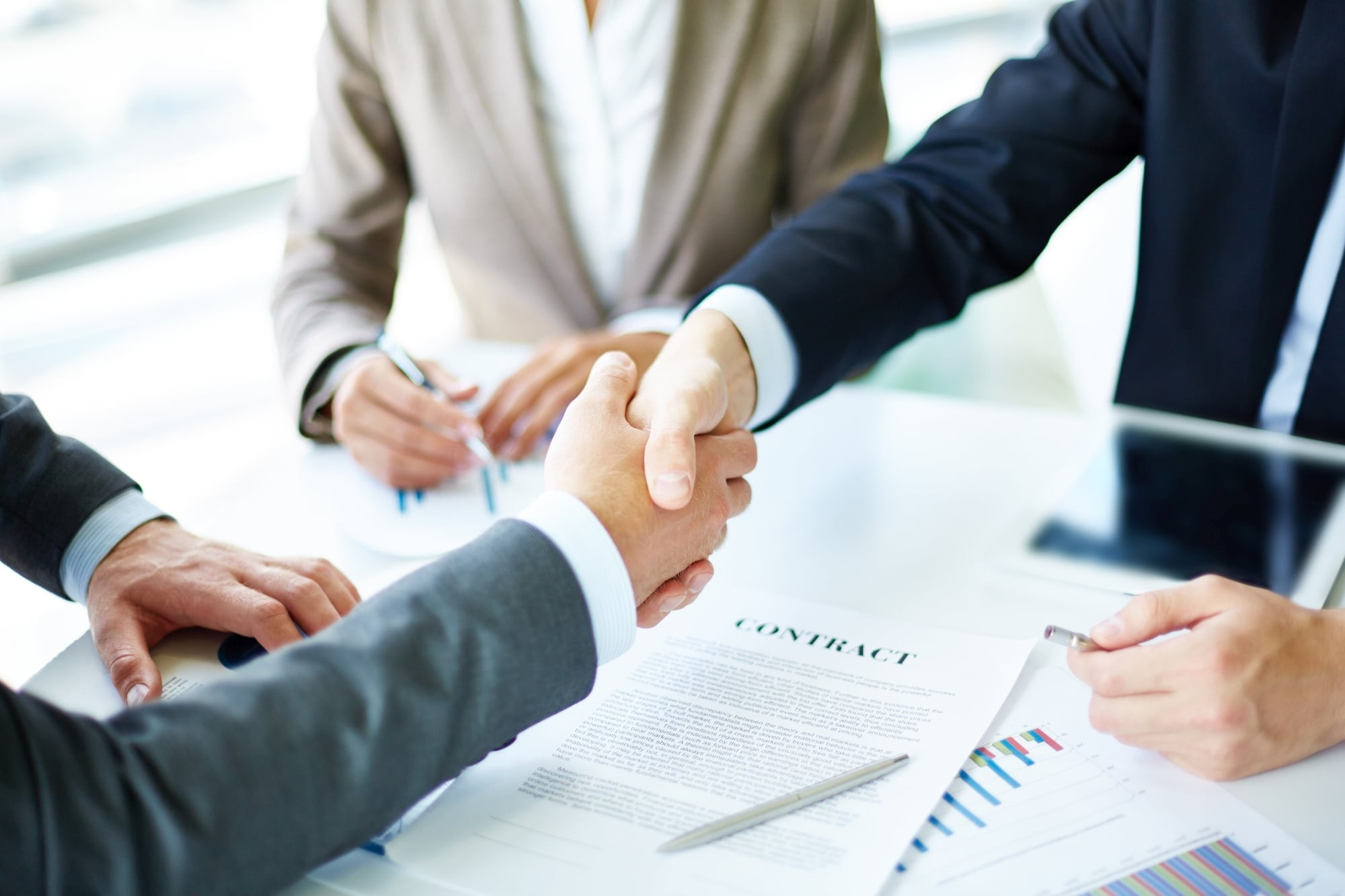 Dukagjin Sadrijaj agreement as a business consultant